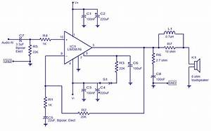50w Audio Amplifier Lm3876