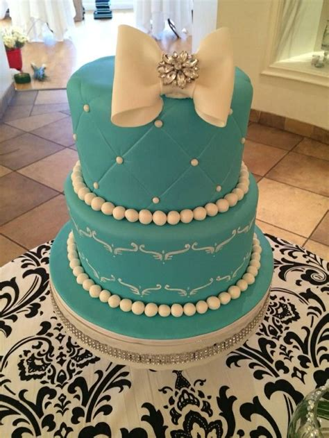 breakfast  tiffanys cake breakfast  tiffanys