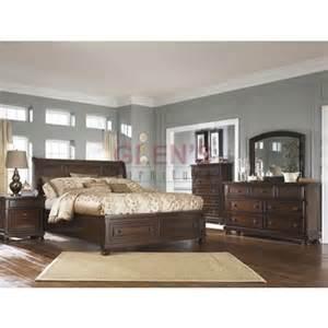 Millennium Porter Bedroom Set Millennium Beds Porter B697 Sleigh Bed From