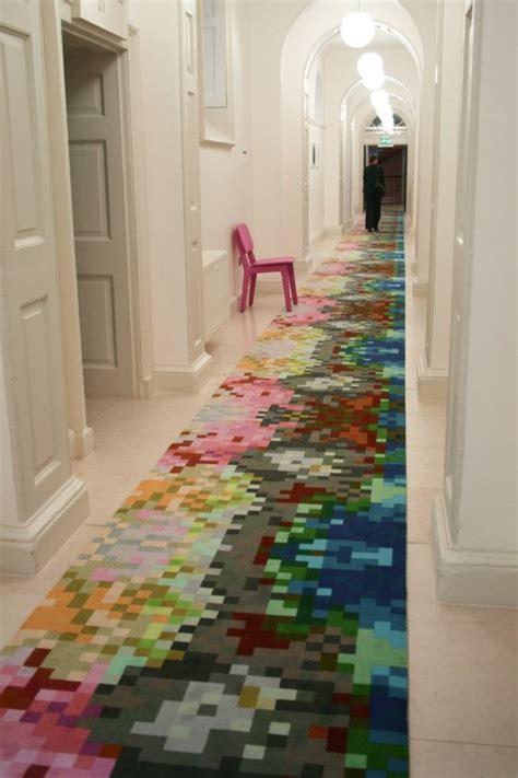 le tapis de couloir moderne  idees design
