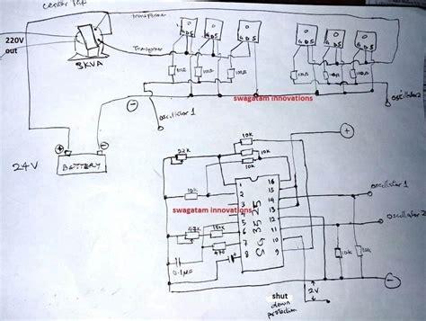 high power sg pure sinewave inverter circuits
