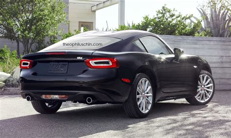 Fiat Build by New Fiat 124 Coupe Rendering Is The Mini Viper Abarth
