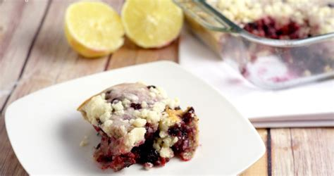 classic blueberry buckle  gracious wife