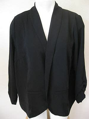 womens black blazer large  concepts  york career