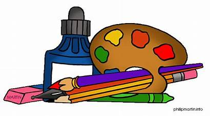 Supplies Arts Clipart Clip Craft Crafts Items