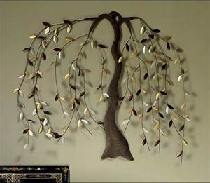 willow tree decor bloggerluvcom With kitchen cabinets lowes with metal willow tree wall art