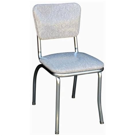 Richardson Seating Retro 1950s Chrome Diner Dining Chair