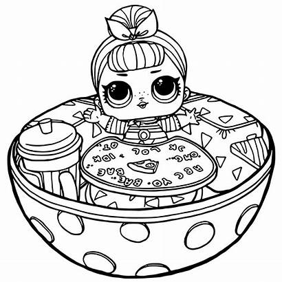 Lol Surprise Coloring Pages Dolls Printable Doll