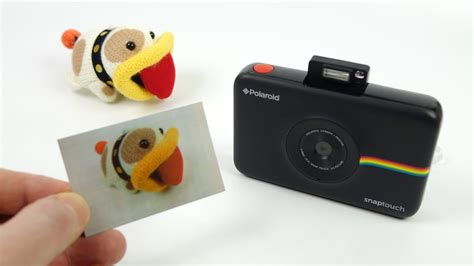 with instant photo polaroid snap touch instant review
