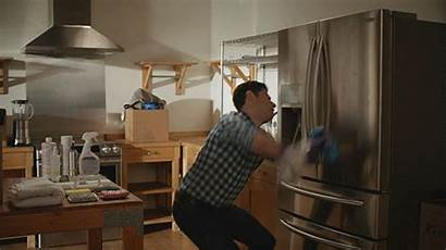 Clean Dancing Messy Kitchen Gifs Things Tv