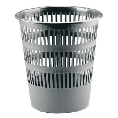 poubelle cuisine 50l corbeille a papier plastique ronde ajouree 16l achat