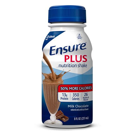 Amazon.com: Ensure Plus Nutrition Shake with 13 grams of