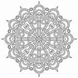 Pages Geometric Coloring Printable sketch template
