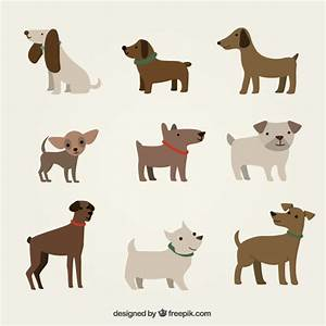 Cute dogs illustration Vector   Free Download