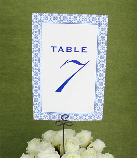 Place Card Template 6 Per Sheet