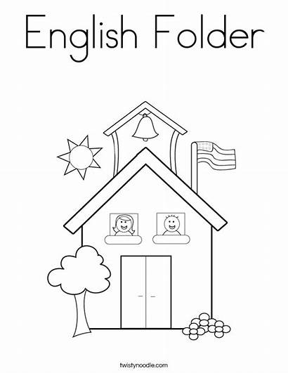English Coloring Folder Pages Mastiff Printable Noodle