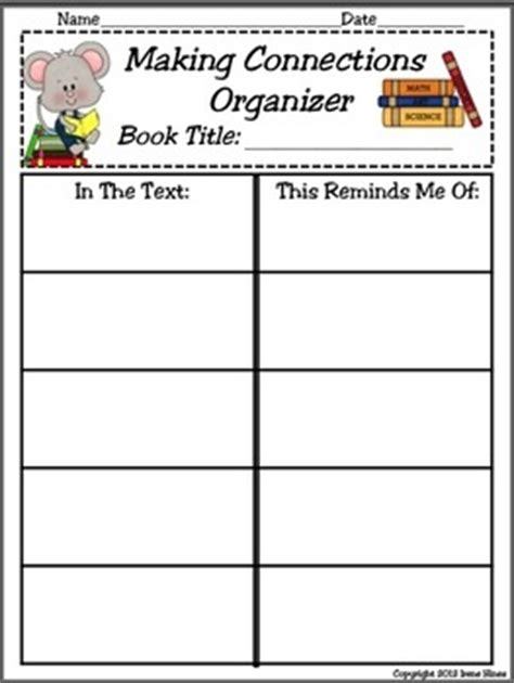 31 Best Images About Making Connections On Pinterest  Making Connections, Wolves And Comprehension