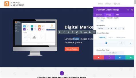 Drag And Drop Website Builder Software Test2 Magnet Marketing