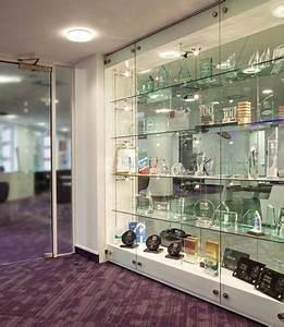 Lighting Gantry Glass Cabinet Display Walls Shopkit Uk
