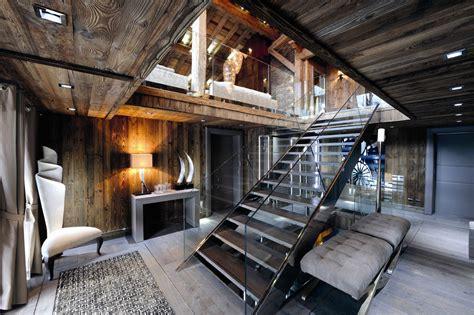 chic modern rustic chalet   rhone alpes idesignarch
