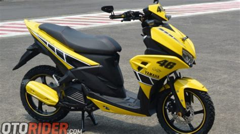 Modif Aerox 125 Lc by Intip Modifikasi Yamaha Aerox 125lc Livery 60th Yamaha