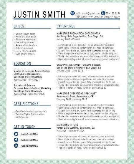 creating a resume that stands out 28 images how to
