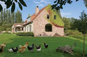 Retro County House in Belgium – Adorable Home