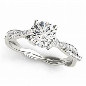 intertwined engagement rings from mdc diamonds nyc With intertwined wedding rings