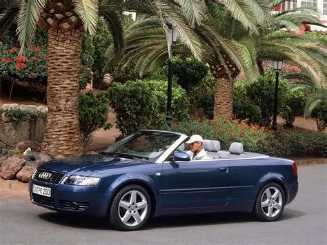 Audi A4 Cabriolet 2002 2003 2004 2005 Autoevolution