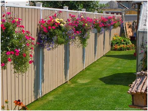 fence hanging planters 10 fantastic fence planter ideas for your garden