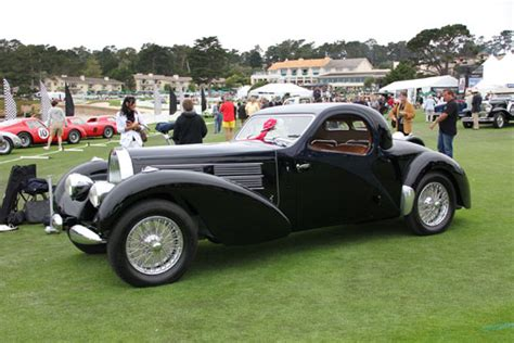 For €11 million (before tax) this unique car has already been sold to a bugatti enthusiast. Monterey in Photos with Hugues Vanhoolandt