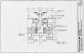 Ada Commercial Bathroom Requirements 2015 by ADA Restroom Layout Submited Images
