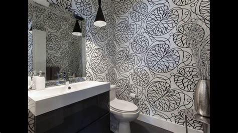 Modern Bathroom Wallpaper Design-youtube