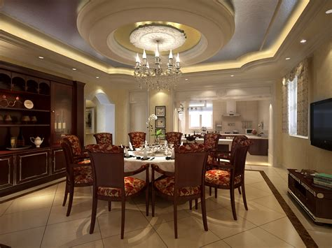 Luxury Dining Room With High-end Decor 3d Model .max Blinds Express Coupon Shutter And Blind Manufacturing Company How To Check If Dog Is Honeycomb Home Depot Wooden Bathroom Uk Microwave For The White Wood Lowes There A Cell Phone