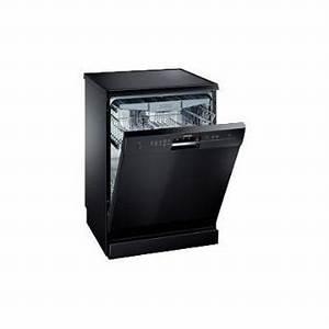 Lave Vaisselle 45 Cm Noir : bosch sn25m687eu lave vaisselle pose libre 60 cm ~ Melissatoandfro.com Idées de Décoration