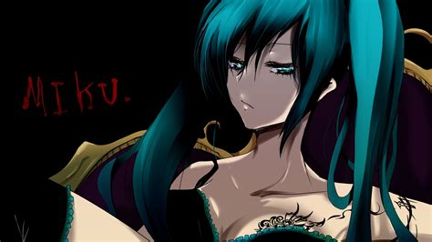 Download 1920x1080 Hd Wallpaper Hatsune Miku Turquoise