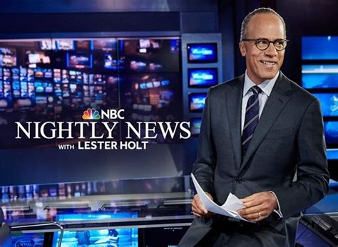 Nbc Nightly News Tv Show Air Dates & Track Episodes