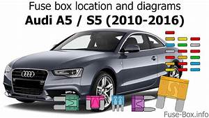 Fuse Box Location And Diagrams  Audi A5    S5  2010