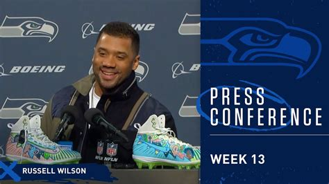 seahawks quarterback russell wilson postgame press