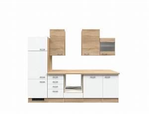 Küchenzeile 280 Cm : k chenzeile rom k chen leerblock breite 280 cm wei k che k chenzeilen ~ Frokenaadalensverden.com Haus und Dekorationen