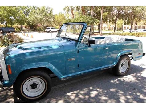 jeep jeepster for sale 1973 jeep jeepster commando for sale classiccars com