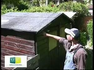 toiture couverture abri jardin en panneau tuile roof With couvrir une terrasse avec des tuiles