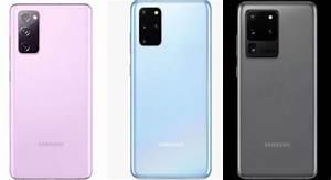 Comparison  Samsung Galaxy S20 Fe Vs Galaxy S20 Vs Galaxy