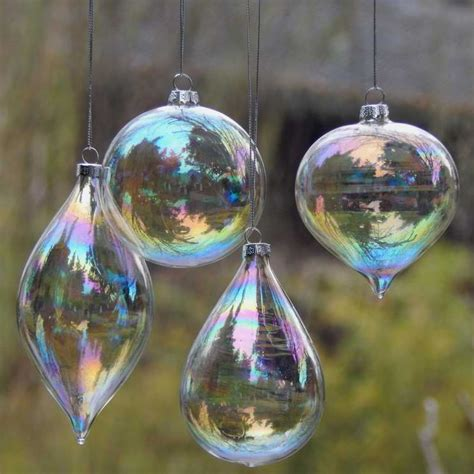 pcslot christmas glass ball clear baubles ornaments