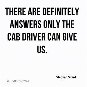 Stephan Sirard ... Taxi Driver Love Quotes