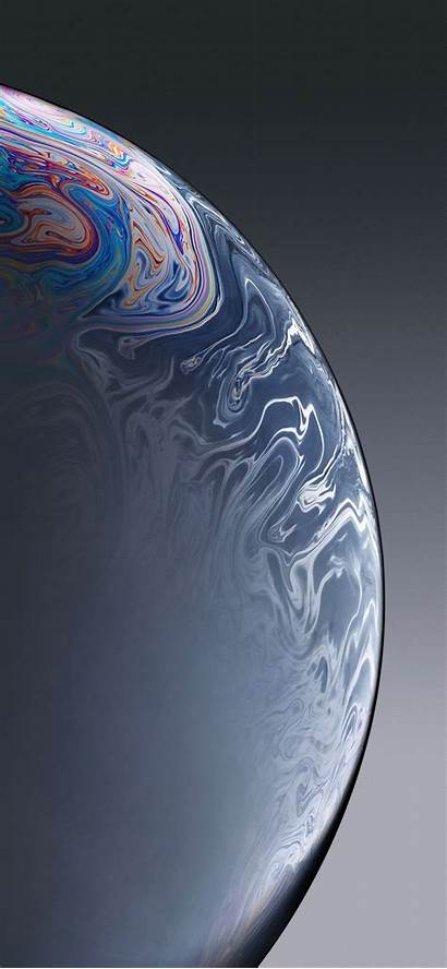 Xr Iphone Wallpapers Backgrounds Designbolts Gray Bubble