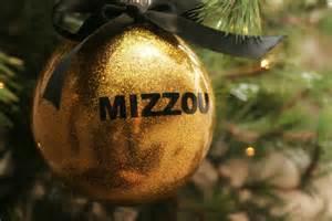 items similar to black or gold mizzou sec christmas ornaments on etsy