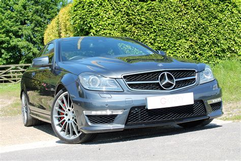 Mercedes C63 Amg Coupe Performance Package
