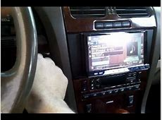 2001 lincoln ls sound system YouTube