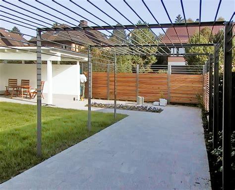 Sichtschutz Garten Leicht by Metall Werk Z 252 Rich Ag Pergola H 228 Usler
